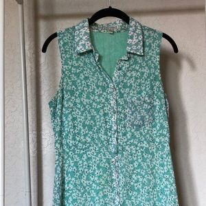 Lucca Couture Dresses - Green floral babydoll